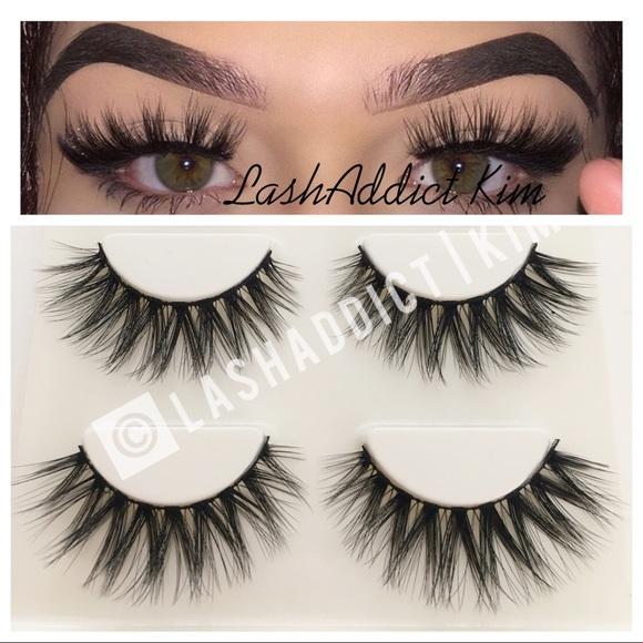 Makeup Mink Eyelashes Lashes Whispers New 3 Pairs Poshmark